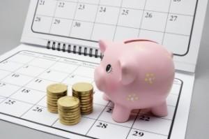 money on calendar 100131562